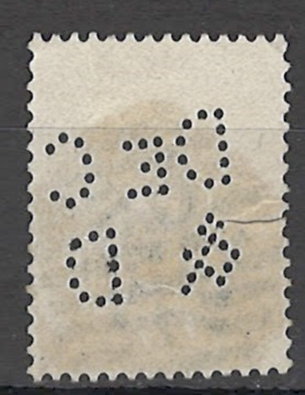 COLLECTION LOT OF # 1642 GREAT BRITAIN # 87 PT 14 1881 CV= $165 PERFIN 2 SCAN