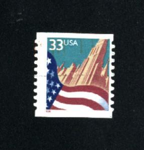 USA # 3280  1  used 1999 PD .08