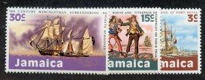 Jamaica, Scott #331-333, Mint, Never Hinged