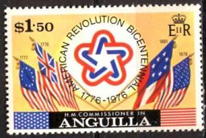 Anguilla; 1975: Sc. # 222: */MH Single Stamp