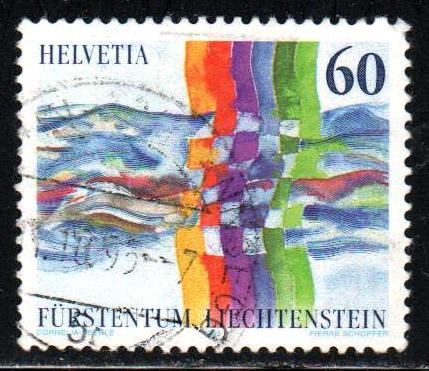 Liechtenstein # 1055 ~ Used, HMR ~ 1.00