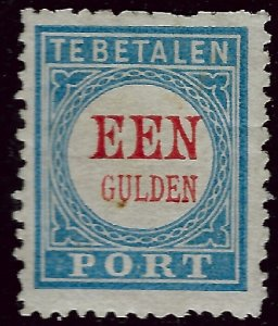 Netherlands SC J12 Type II Mint blunt perfs/gum stain SCV$150.00