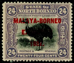 NORTH BORNEO SG271, 24c lilac, M MINT. Cat £55.