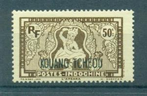French Offices in China Kwangchowan sc# 127 mlh cat value $1.10