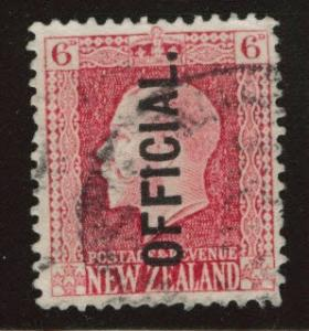New Zealand Scott o41 Used Official stamp