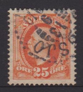 Sweden Sc#61 Used