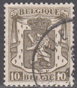 Belgium, Sc 267, Used, 1935, Coat of Amrs