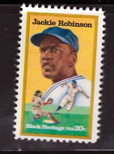 USA Scott 2016 MNH** Jackie Robinson stamp