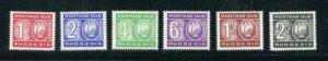 Rhodesia #J9-14 MNH