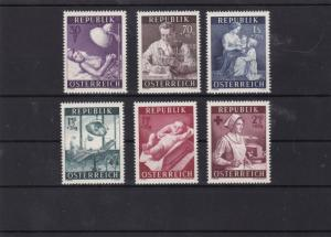 austria 1954  health service fund mnh stamp cat £28 ref 7157
