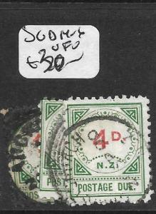 NEW ZEALAND (P1512B) POSTAGE DUE   SG D14-6  VFU
