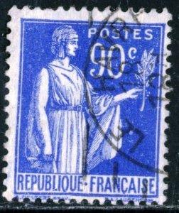 FRANCE #276 , USED - 1938 - FRAN222AFF8