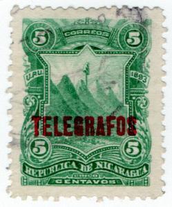 (I.B) Nicaragua Telegraphs : 5c Green