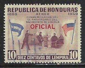 Honduras CO102 VFU Z5102-3