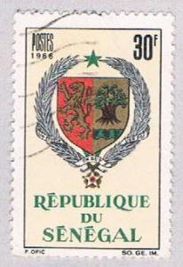 Senegal 274 Used Arms of Senegal 1966 (BP3014)