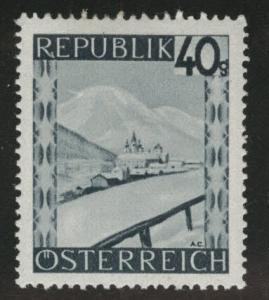 Austria Scott 470 MH* stamp from 1945-46 set