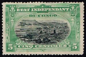 Belgian Congo #16 Port Matadi; Unused (2.25)