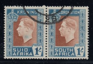South Africa, CW S5c, used, Dot in Place of Hyphen variety