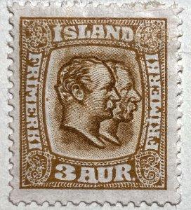 AlexStamps ICELAND #72 VF Mint