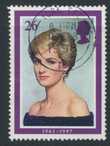 Great Britain  SG 2025  SC# 1795  Princess Diana  Used see detail and scan