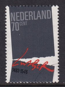 Netherlands #654  cancelled  1983  Luther