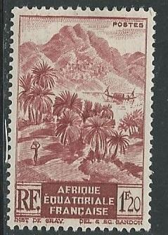 French Equatorial Africa  + Scott # 173 - MH