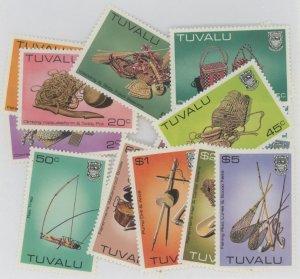 Tuvalu 183-95 ** mint NH fishiing gear tools (2106 392)
