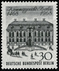 GERMANY BERLIN 1968 500th ANNIV. MAGISTRAT. COURT MINT (NH) SG B314 P.14 SUPERB