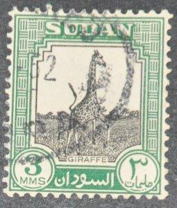 DYNAMITE Stamps: Sudan Scott #100  – USED