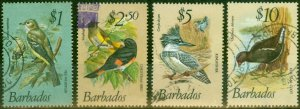 Barbados 1979 Bird Set of 4 Top Values SG635-638 Fine Used