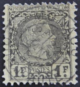 DYNAMITE Stamps: Monaco Scott #9 – USED