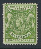 British East Africa Company  SG 65  SC#72  Mint Hinged  -  see details
