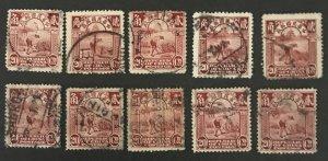 Republic of China 1923 #262 Used-Wholesale lot CV $4.00