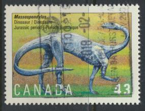 Canada SG 1568 Used SC# 1495 Dinosaur see details