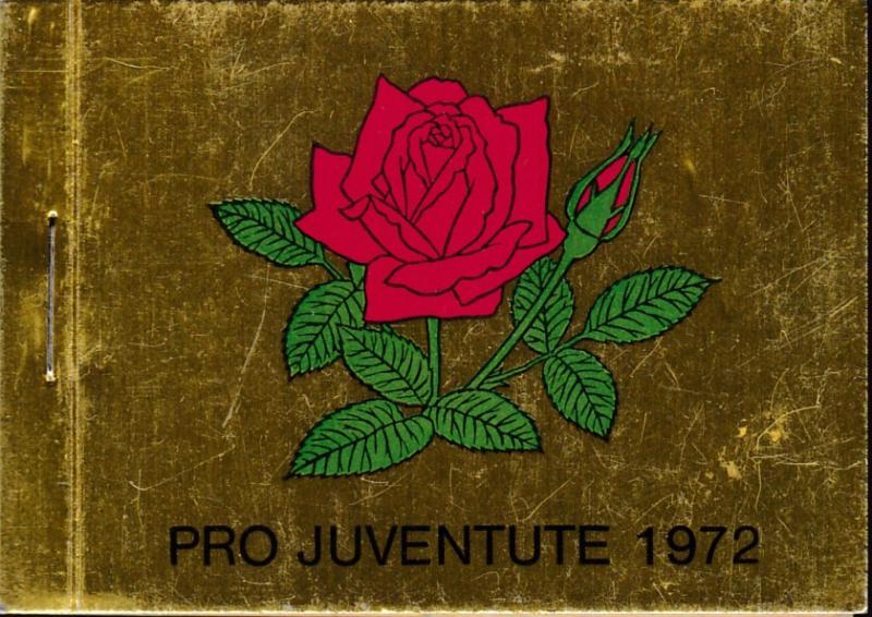 Switzerland 1972 Pro-Juventute Booklet Complete  VF/NH