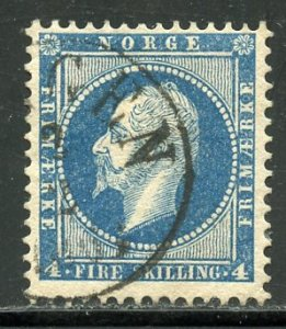 Norway # 4, Used. CV $ 20.00