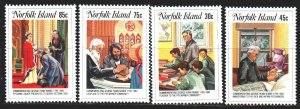 Norfolk. 1984. 352-55. In memory of Nobbs, missionary and teacher. MNH.