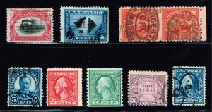 US STAMP 1920 -30 USED STAMPS COLLECTION LOT #W5