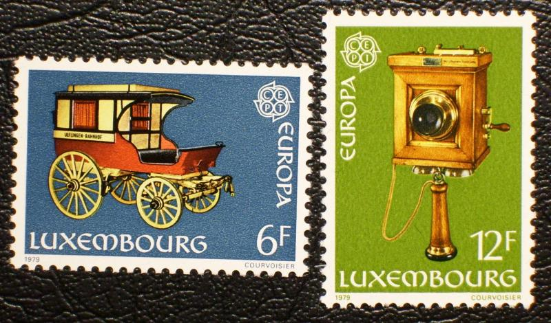 Luxembourg #624-625 mnh