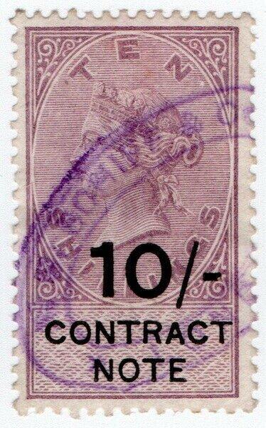 (I.B) QV Revenue : Contract Note 10/-