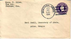 United States, Oregon, Postal Stationery