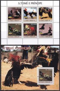 Sao Tome and Principe, Fauna, Birds MNH / 2003