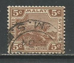 Malaya Federation  #59  Used  (1932)