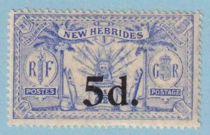 BRITISH NEW HEBRIDES 40  MINT HINGED OG * NO FAULTS VERY FINE !