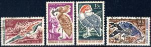 CÔTE-D'IVOIRE/IVORY COAST - 1965 - Mi.286, 287, 288 & 289 Oiseaux / Birds - OBL