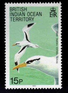 British Indian Ocean Territory BIOT Scott 94 MH* White-Tailed Tropic Bird stamp