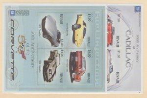 Tuvalu Scott #917-918 Stamps - Mint NH Souvenir Sheet Set