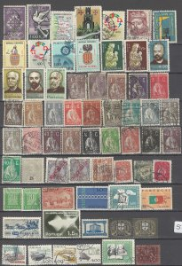 COLLECTION LOT # 51L PORTUGAL 102 STAMPS CLEARANCE