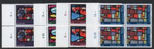 Switzerland Sc B398-401 1971 Pro Patria stamp set mint NH Blocks of 4