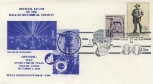 1980 Texas State Fair Dallas TX Pictorial Dallas HS